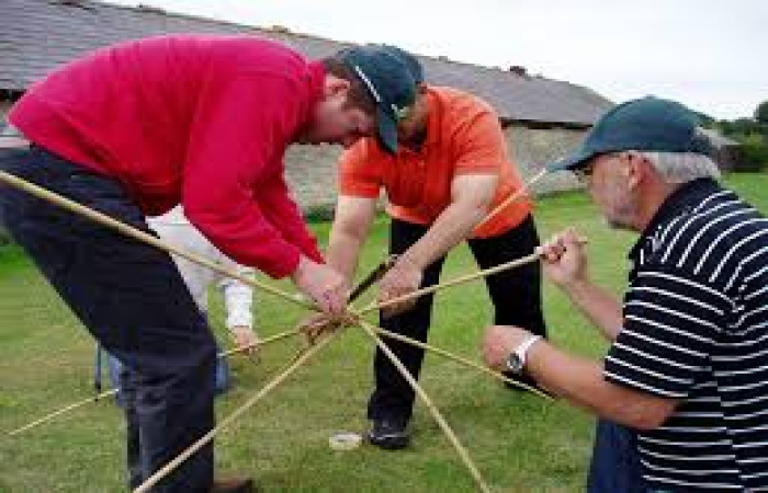 Missile Launch Group Team Building  Fun Activity
