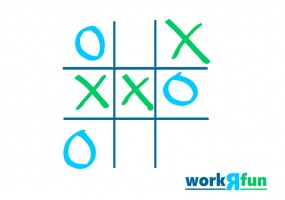 Tic Tac Toe Trivia Youth Game