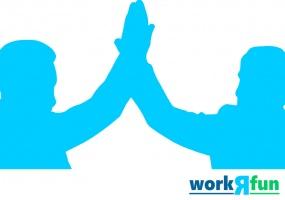 You and Me equals a Dream Team Team Building Activity