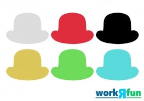 Six Colored Thinking Hats Ice Breaker Activity